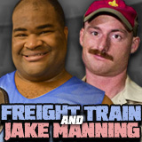 "Freight Train & ""The Man Scout"" Jake Manning"