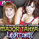 Major Tanya and Lightning of G.L.O.W.